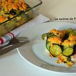 recette Crumble de cabillaud et de courgettes
