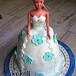 recette Gâteau princesse pour les 4 ans de ma petite fille Juliette