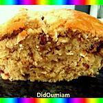 recette cake à la banane & muesli aux fruits rouges