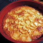 recette Gâteau rapide Tupperware pommes poires