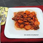recette Carottes à la bolognaise au Cookéo