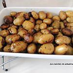recette Pommes de terre rattes au four