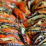 recette Tian de courgette, tomate et aubergine