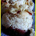 recette minis cheesecakes à la banase, pandan et base aux speculoos