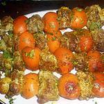 recette Brochettes de porc aux abricots