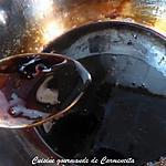 recette Crème de vinaigre balsamique au miel