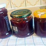 recette Confiture de prunes jaunes et rouges à la cannelle