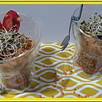 recette Salade de Lentilles corail