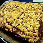 recette Crumbcake chocolat marron