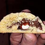 recette Sablés coeur coulant Nutella et noisette
