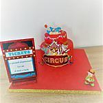 recette Gâteau d'anniversaire:cirque