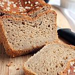 recette Brioche Bio {sans gluten / sans oeufs}