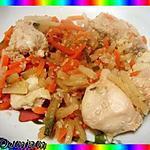 recette Bouchées de poulet au sésame.