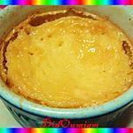 recette Flan de ricotta à la fleur d'oranger