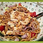 recette Salade de nouilles au poulet