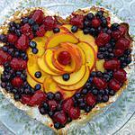 recette Tarte coeur multifruits aux gourmandises de Tommy  ...