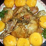 recette Cuisses de poulet aux nectarines