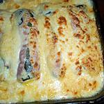 recette Courgettes aux jambon et comté