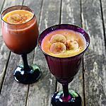 recette Smoothie Ananas, banane, melon, jus d'orange et cannelle