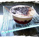 recette tiramisu aux mûres et framboises sur liqueur de fraise des bois