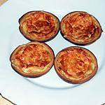 recette mini quiche à l'emmental