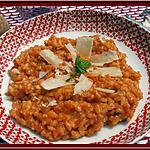 recette Risotto à la tomate et poulet