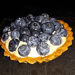 recette Tarte myrtilles amande mascarpone