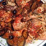 recette Lapin aux aubergines