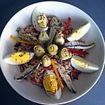 recette Salade de riz façon salade niçoise