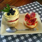 recette Desserts de fin d'Août entre figues et mûres
