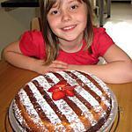recette Gâteau au yaourt ( préparé par Adelice 8 ans )