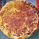 recette Tarte feuilletée aux oignons et lardons fumés