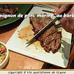 recette Filet mignon de porc mariné, au barbecue