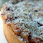 recette Tarte amandine griottes