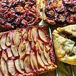 recette tartelettes fruits  de saison ,