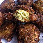 recette Beignets de courgettes curry et comté