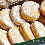 recette Sablé à la vanille et aux amandes