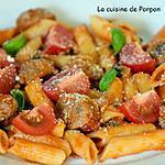 recette Saucisse et penne sauce tomate