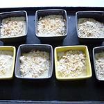 recette CASSOLETTES DE SAINT-JACQUES GRATINEES
