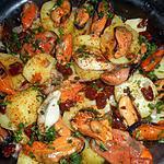 recette Salades de pommes de terre aux moules d espagne