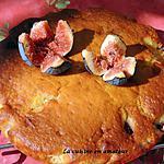 recette Gâteau yaourt aux figues