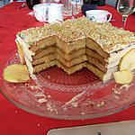 recette Layer cake aux pommes