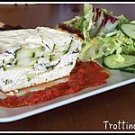 recette Terrine de courgette au fromage de chèvre frais