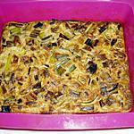 recette clafoutis au poireaux et lardons