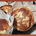 recette Muffins au Chocolat Amande