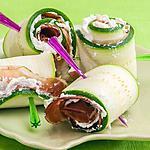 recette Involtini de courgettes à la ricotta et au speck