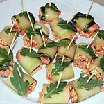 recette Rouleau de concombre