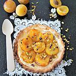 recette Tarte Flambée Sucrée aux Mirabelles et Pistaches