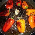 recette Petits poivrons poélés