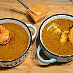 recette Soupe de poissons au safran